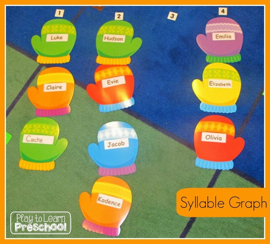 Bar Graphs for Preschoolers - Play to Learn