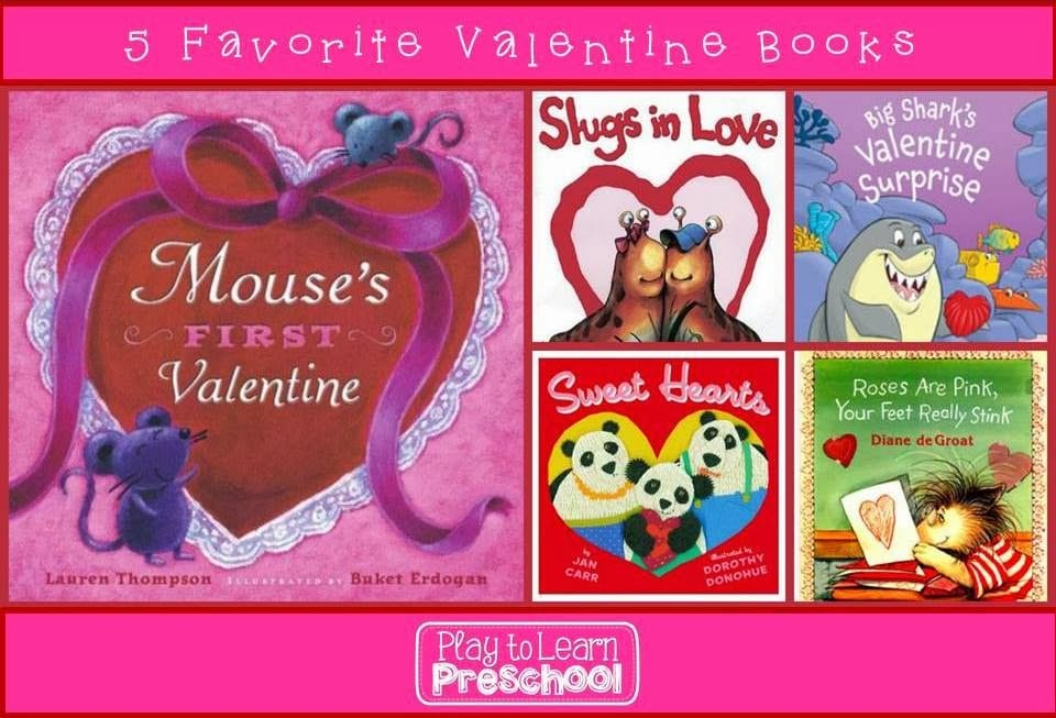 5 Favorite Valentine Books