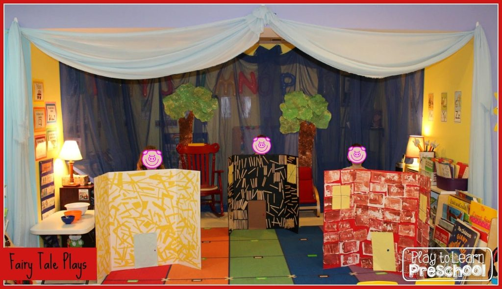 Fairy Tale Plays at preschool