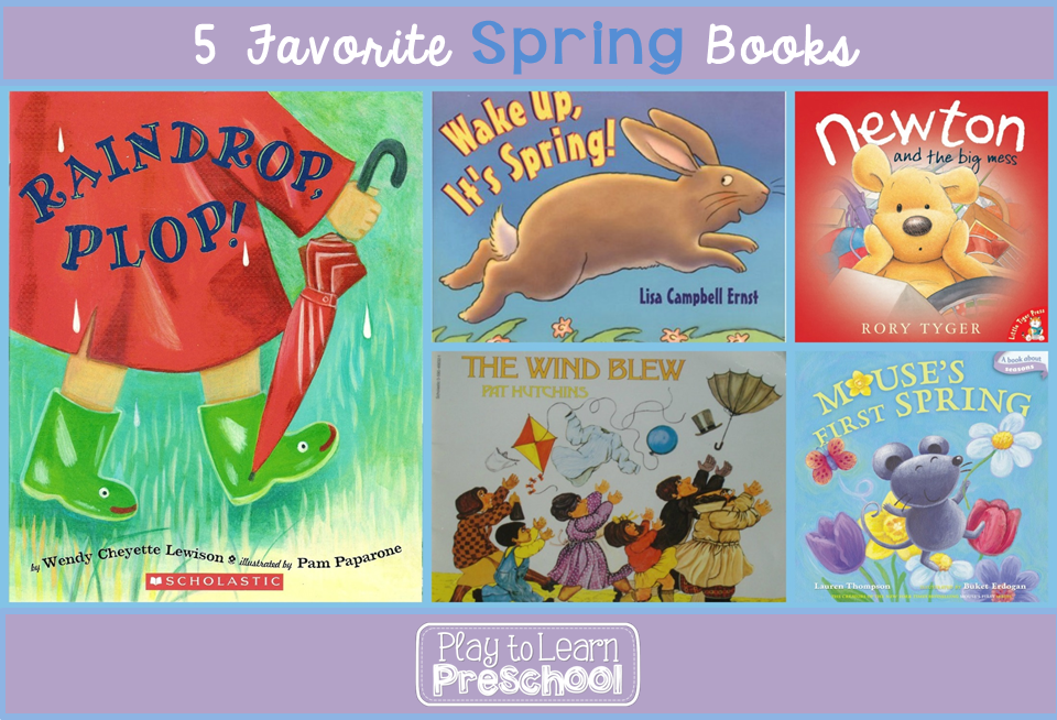5 Favorite Spring Books