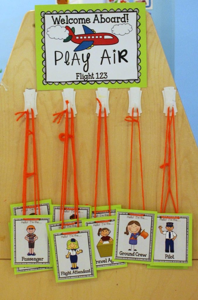 name tags for dramatic play for preschoolers