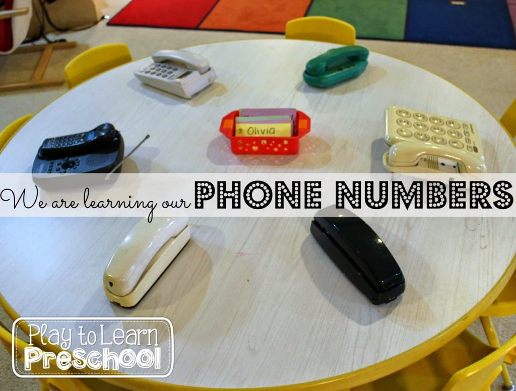 Teaching Phone Numbers