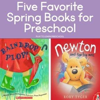 Favorite Spring Books for Preschool