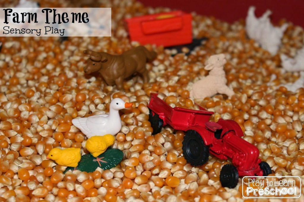 Farm Sensory Play