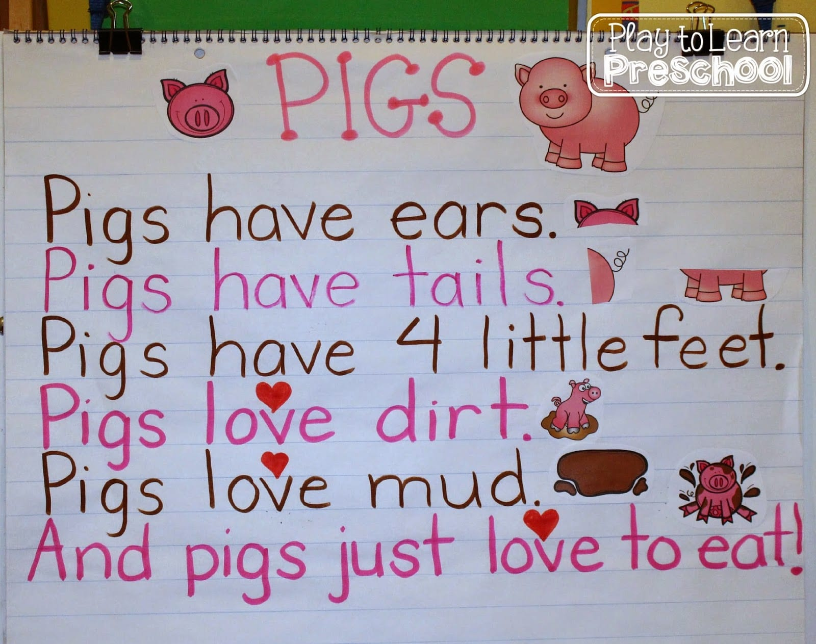 Pigs Aplenty - Play to Learn