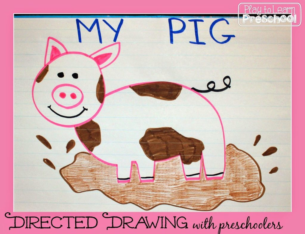 Directed Drawing Lesson Play To Learn