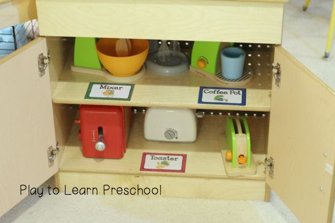 Play Kitchen Appliances