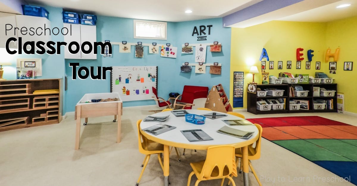Preschool Classroom Environment At Play To Learn Preschool