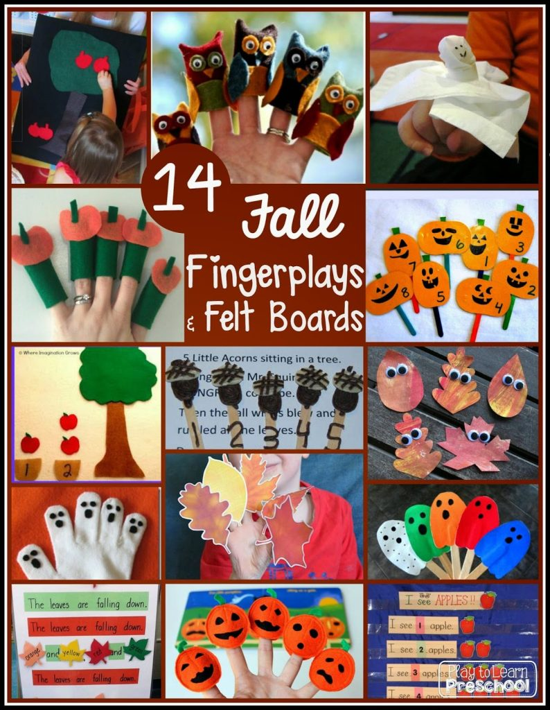 Autumn Circle Time Activities for Preschoolers from Play to Learn Preschool