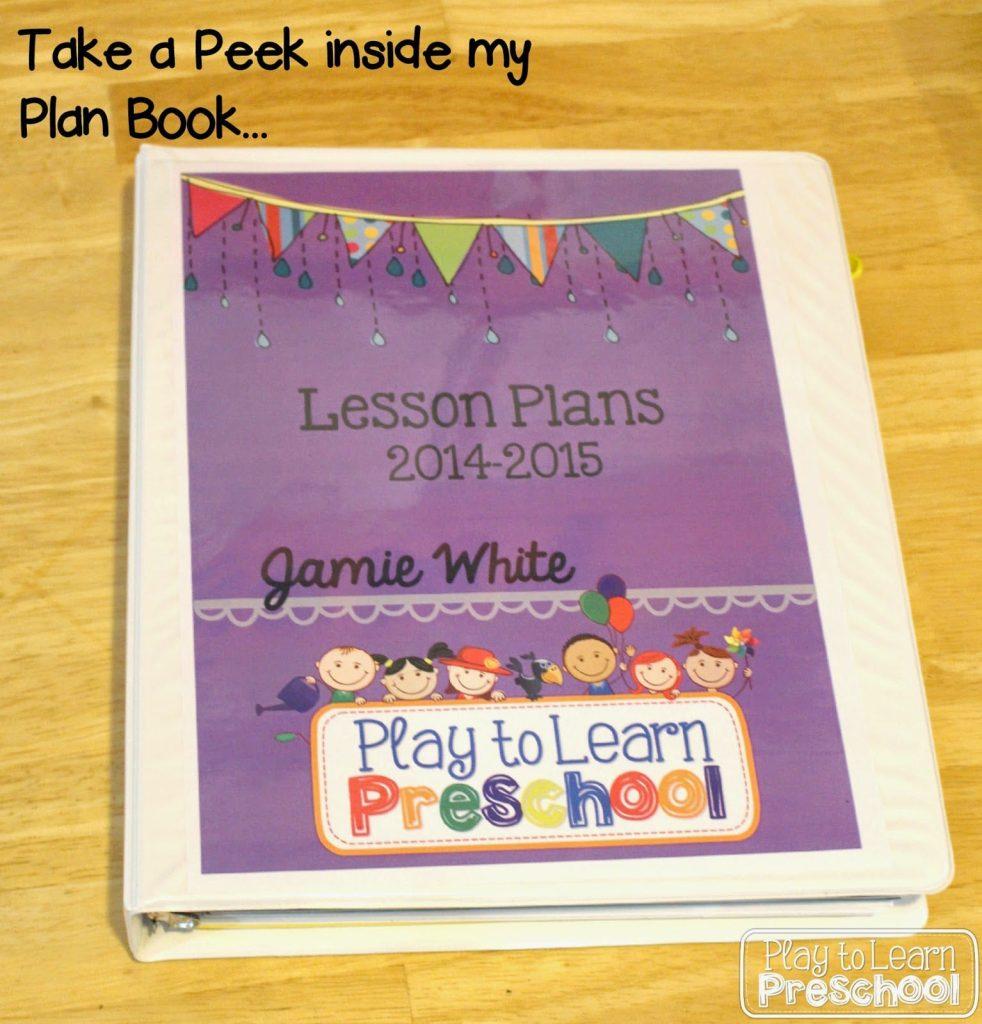 A Look inside my Plan Book