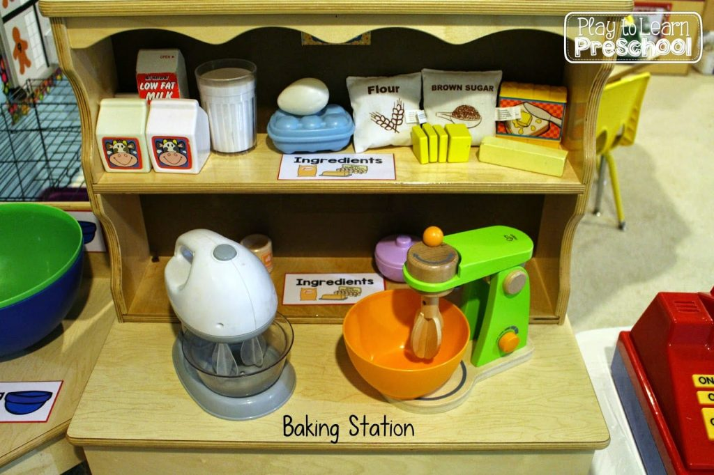 Cookie Shop Bakery Dramatic Play Center For Preschoolers
