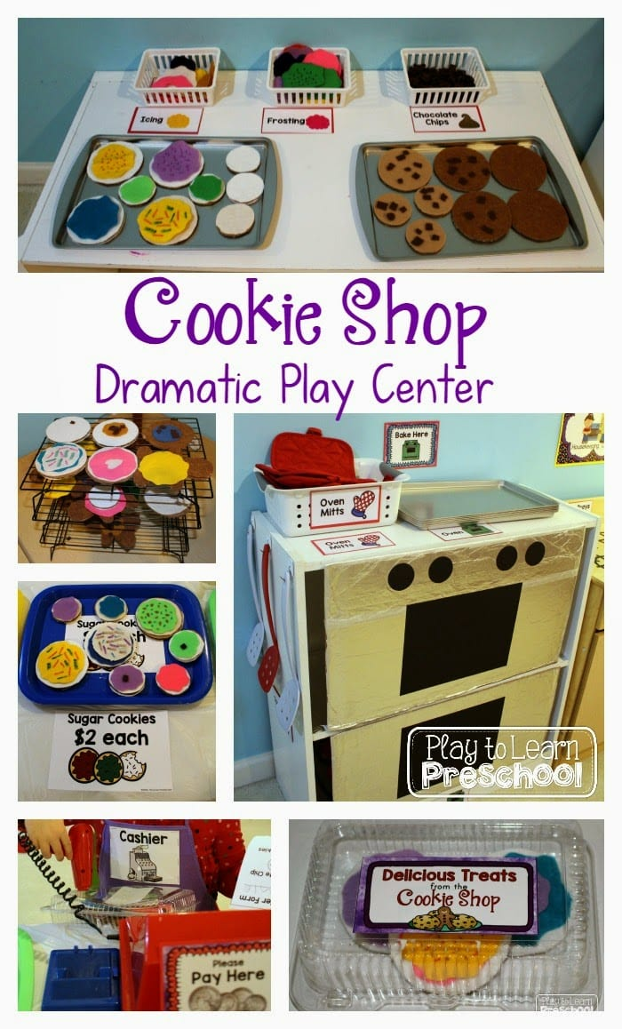 Cookie Shop Dramatic Play - Play to Learn