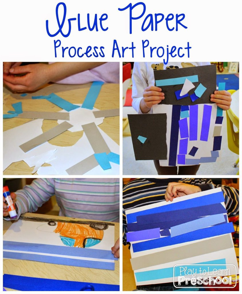 Paper Strip Process Art