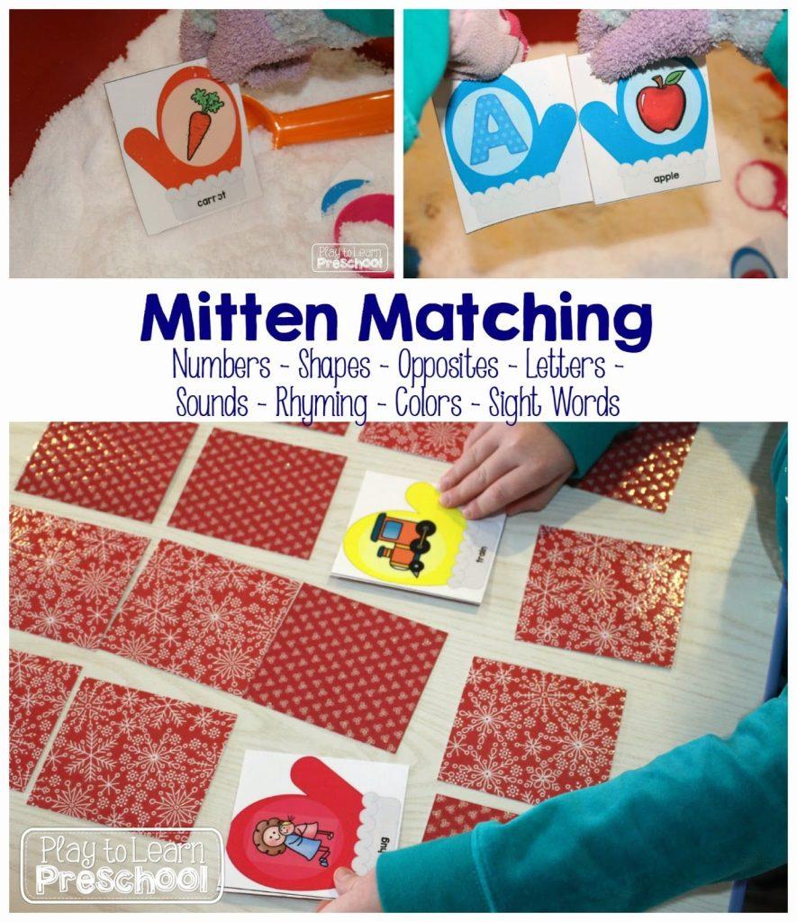 Mitten Matching Games