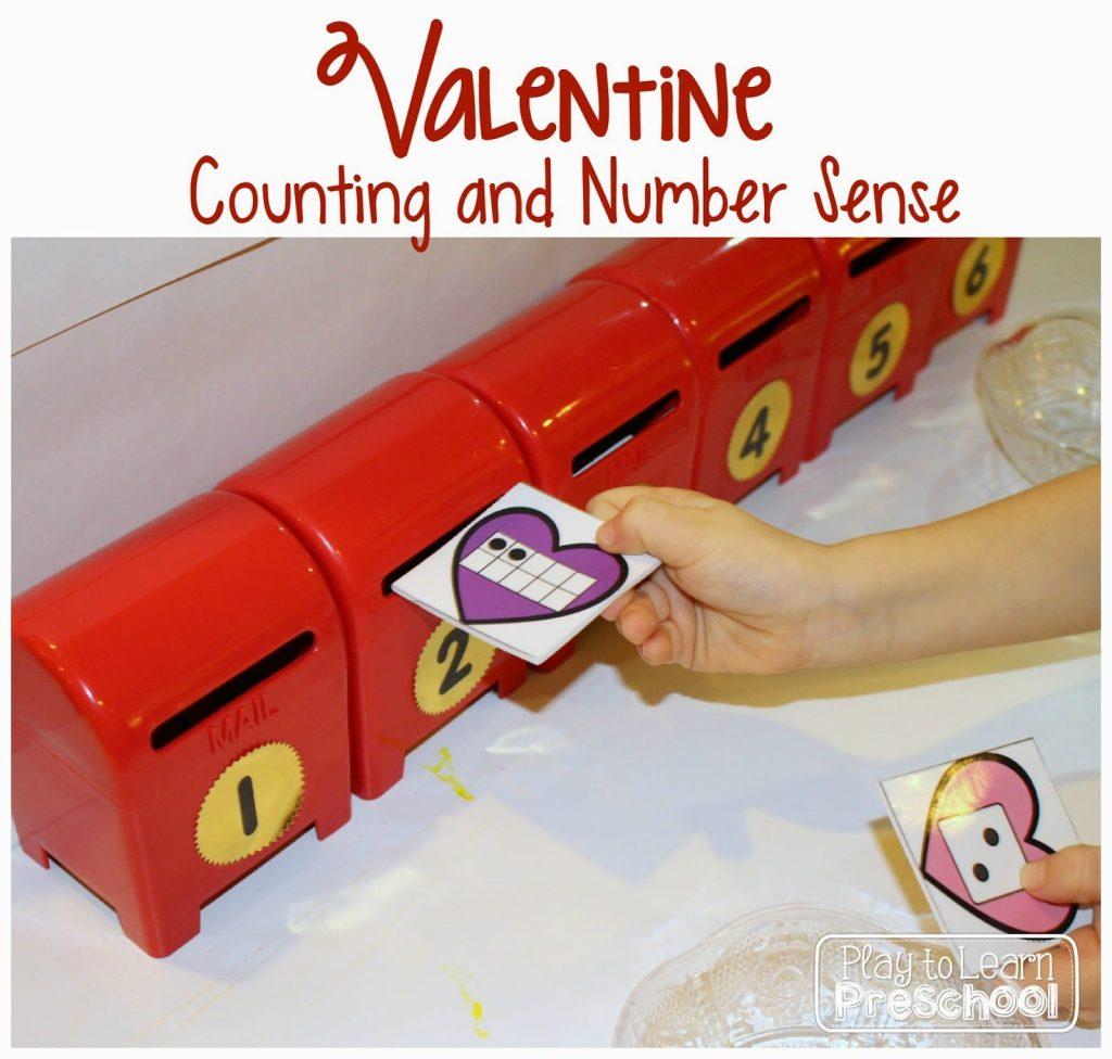 Valentine Number Sense