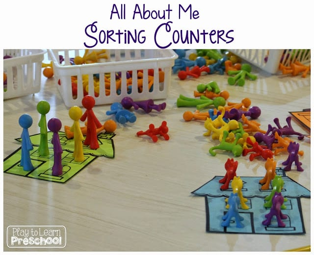 All About Me Counters
