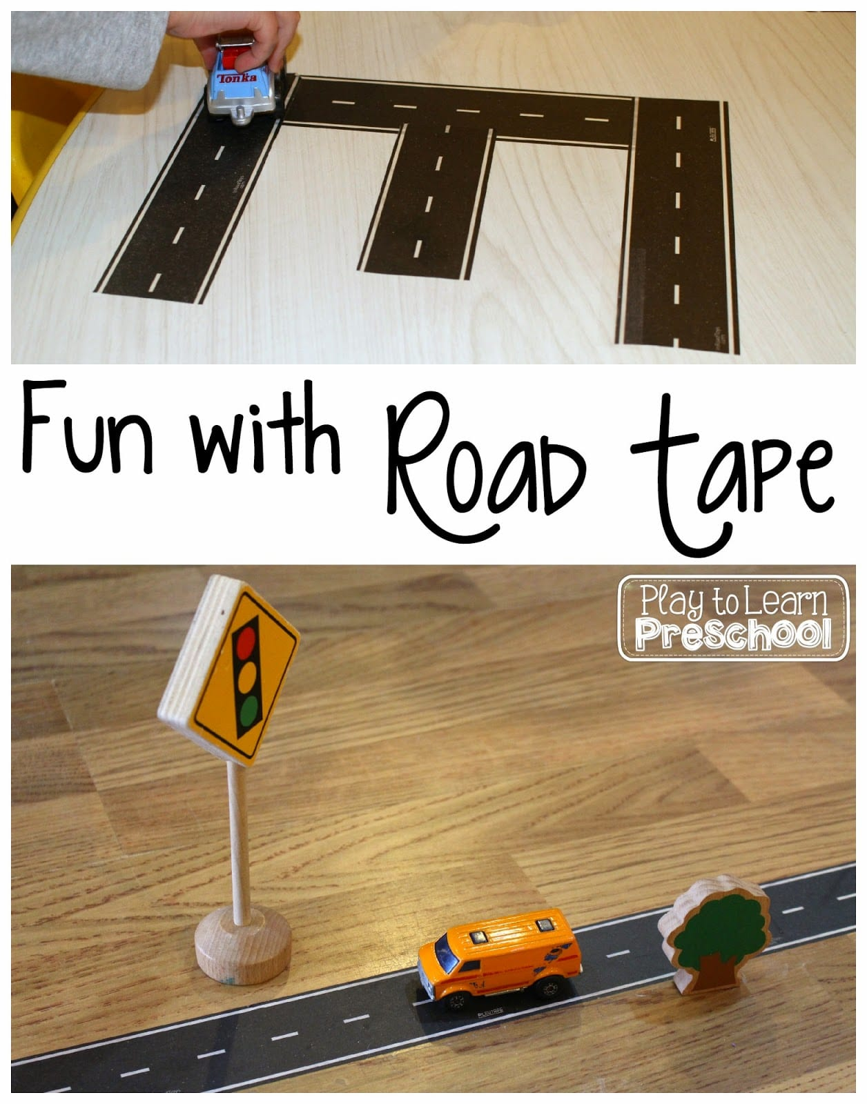 Road Tape Play To Learn