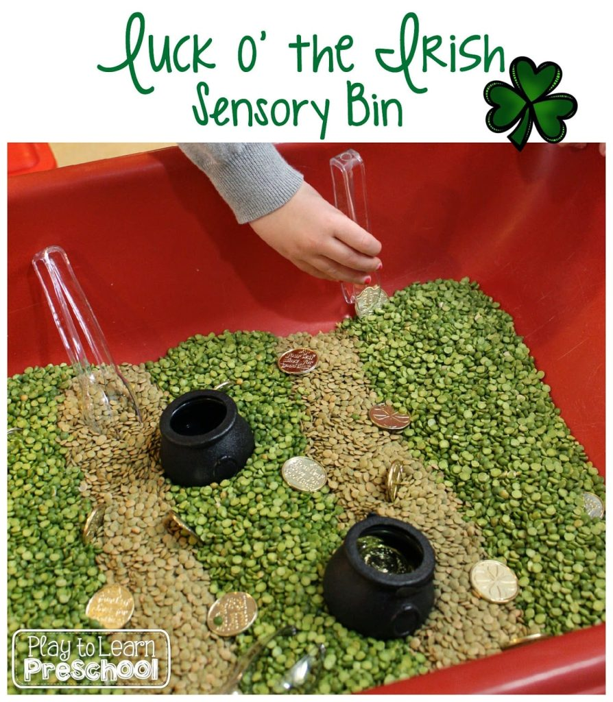 Lucky Sensory Table