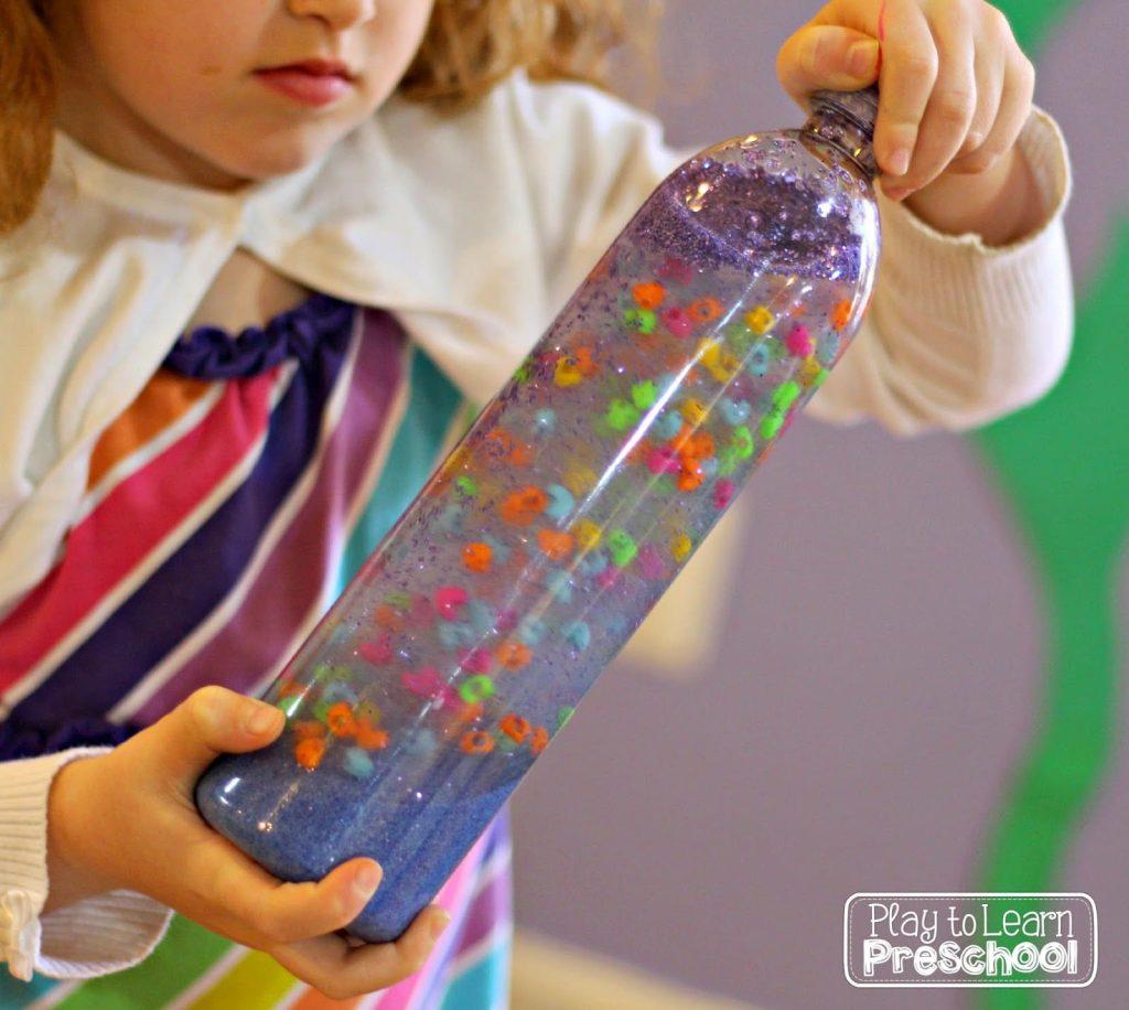 sensory bottles for preschool weighted sensory bottles heavy work for active 706
