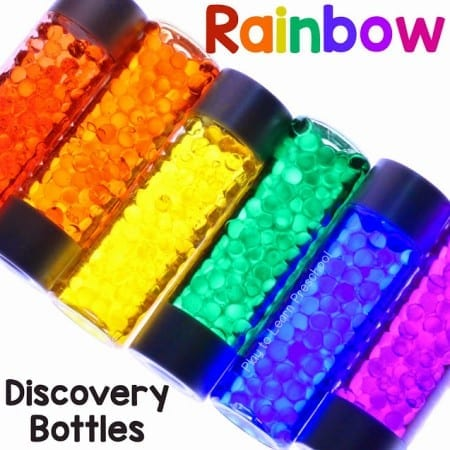 Rainbow Discovery Bottles