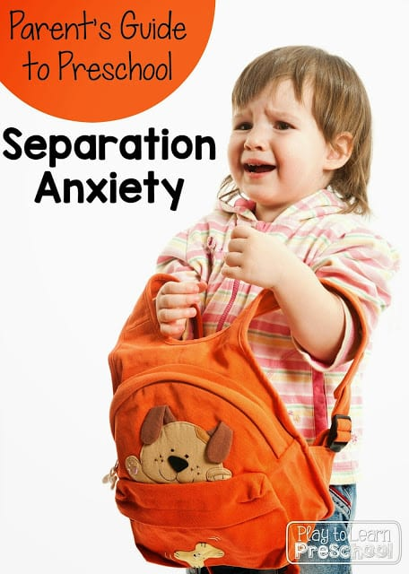 Separation Anxiety: A Parents' Guide