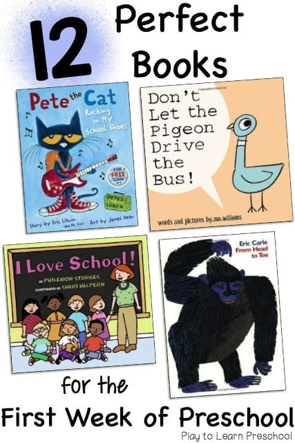 Books for the First Day of Preschool