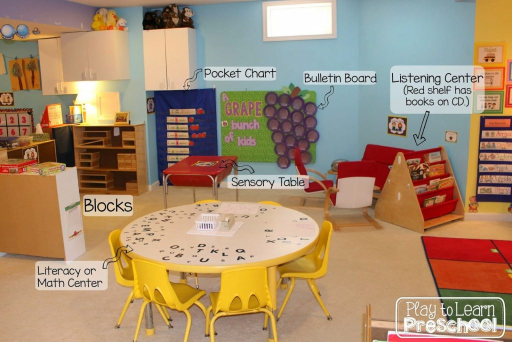 Classroom Ideas For Preschoolers ~ Play to learn preschool classroom tour and design ideas