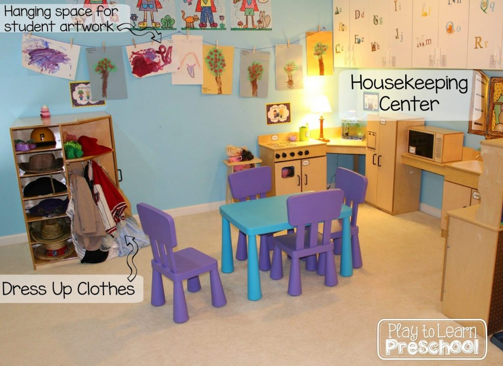 Classroom Center Ideas ~ Play to learn preschool classroom tour and design ideas
