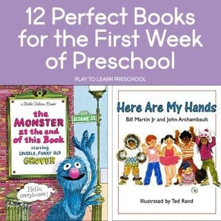 12 Perfect Books for the First Week of Preschool