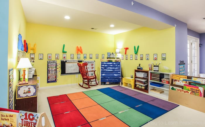 Modern Classroom Games ~ Preschool classroom environment at play to learn