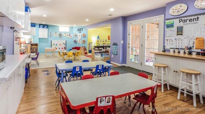 Preschool Classroom Environment At Play To Learn Preschool