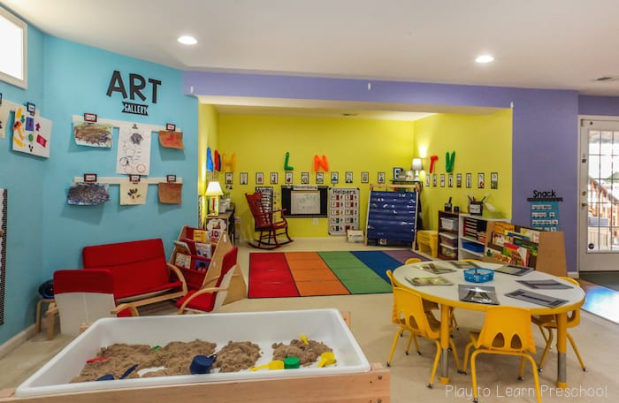Classroom Ideas K 3 ~ Preschool classroom environment at play to learn