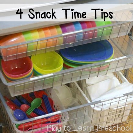 Snack Time Tips