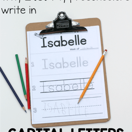 Writing with Capital Letters