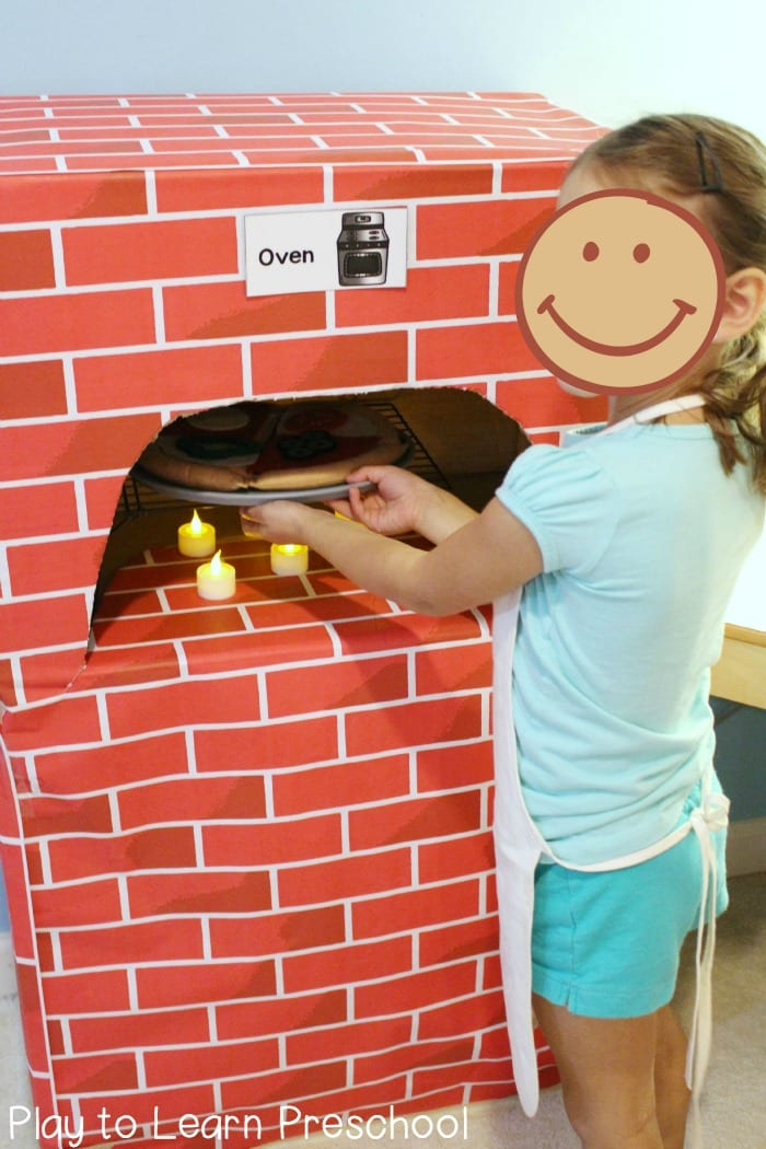 Pizza Parlor Kitchen brick oven pizza parlor dramatic play center