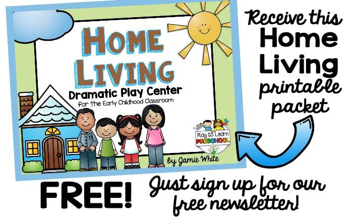 Home Living Dramatic Play Set