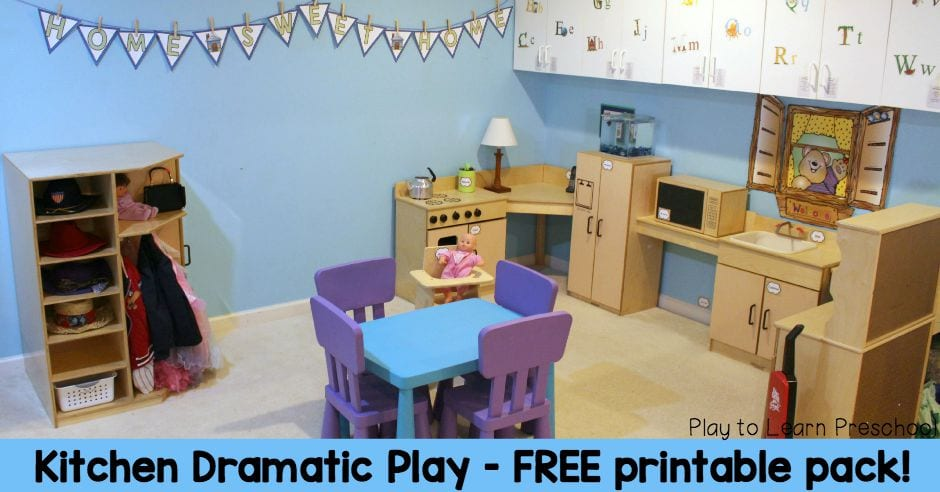 How To Create An Amazing Kitchen Dramatic Play Center