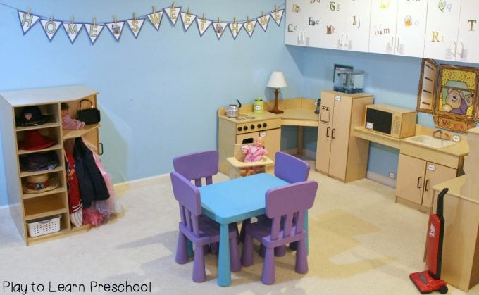 Preschool Kitchen Center Ideas
