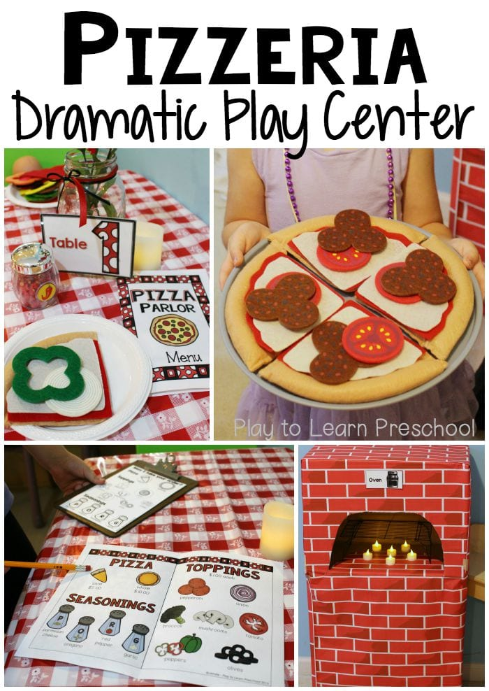 Pizza Pizzeria Dramatic Play
