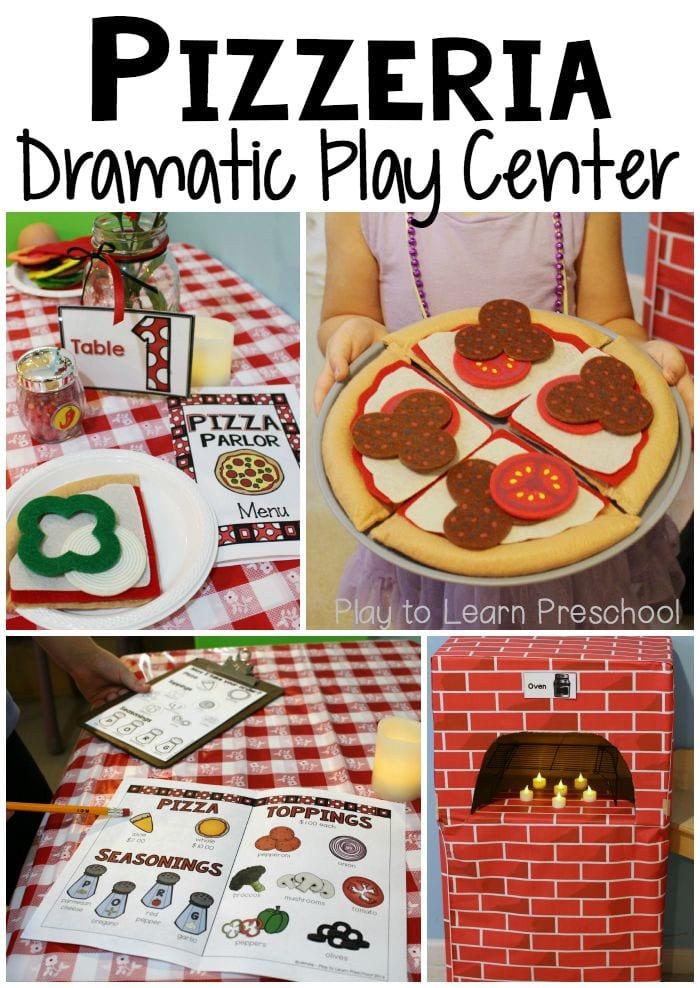 Pizza Pizzeria Dramatic Play