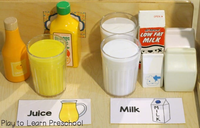 Juice & Milk