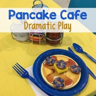 Pancake Cafe Dramatic Play Center
