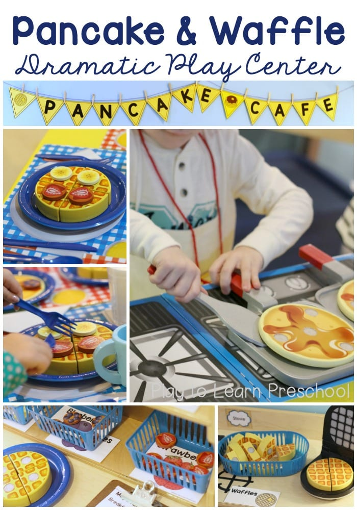 Pancake Cafe Dramatic Play