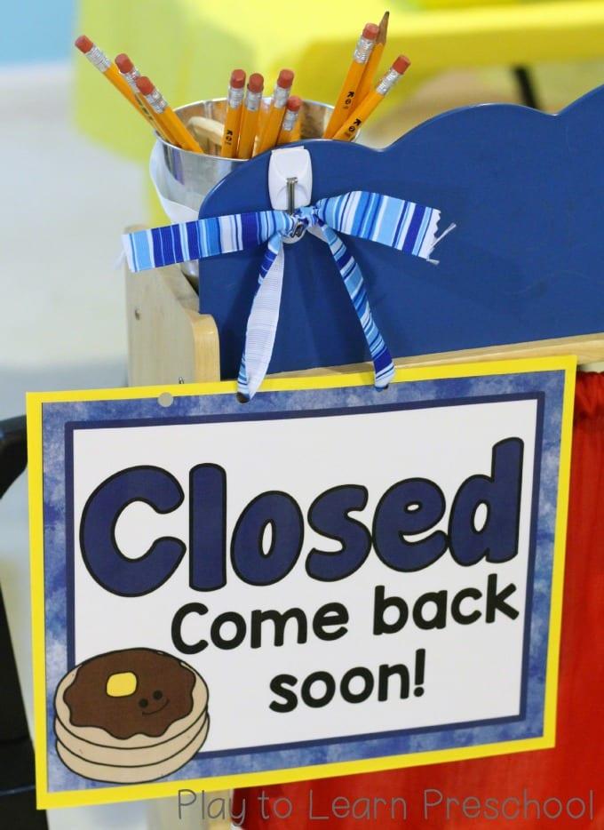 Pancakes Closed