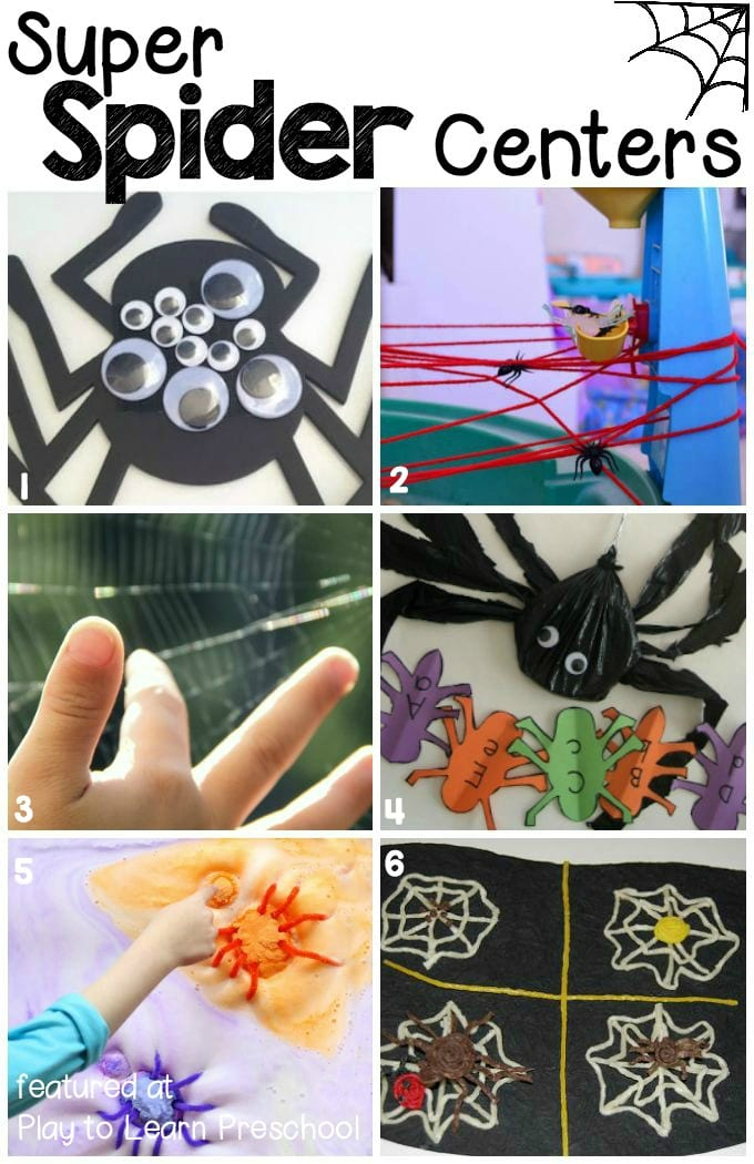 Spider Centers for Preschool