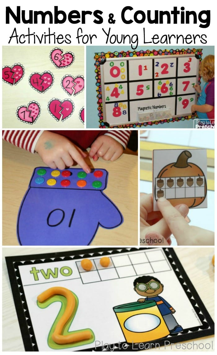 favorite number activities for preschoolers the measured mom