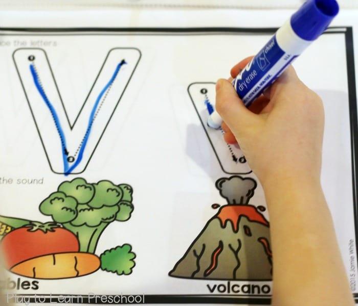 Dry Erase V