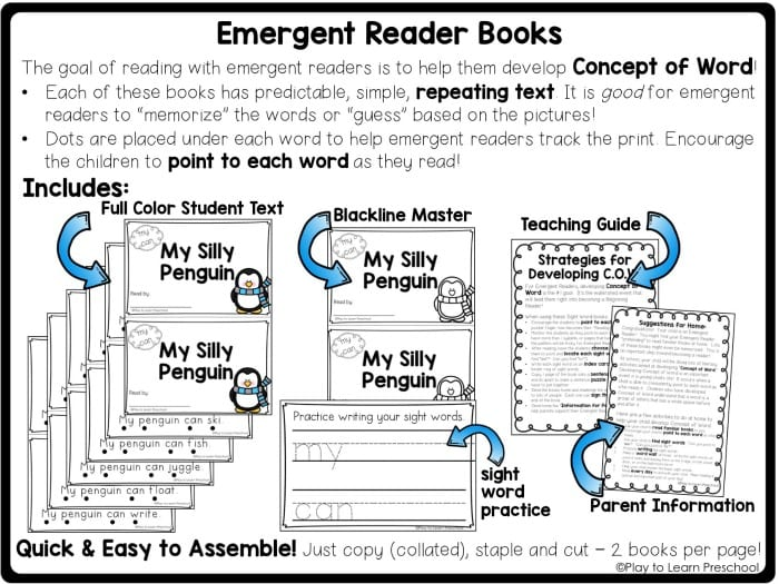 Emergent Reader Books
