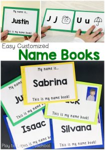 Name Books pin