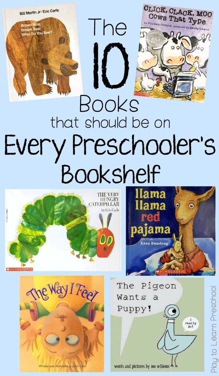 10 Books for Preschoolers